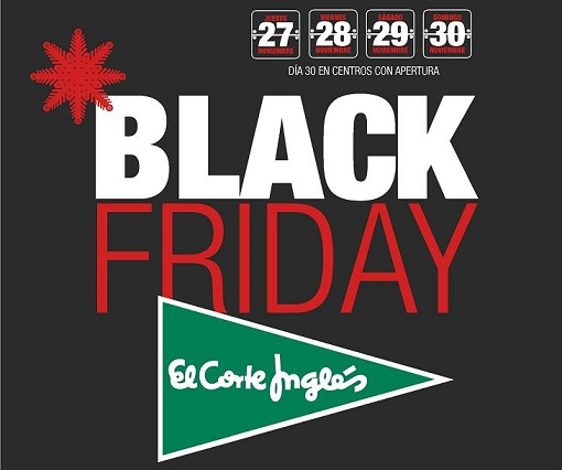 Black Friday Corte Inglés